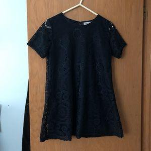 Dresses & Skirts - Tunic dress // Lace // Navy